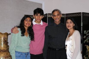 Picture of the Rao Family