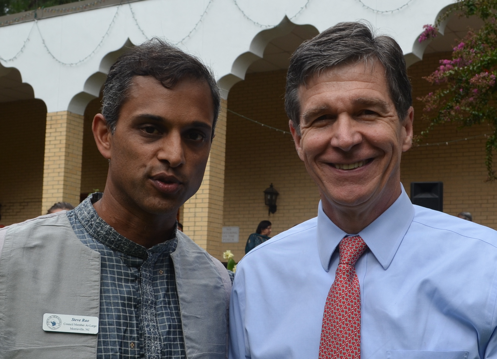 North Carolina AG Roy Cooper attends Independence Day celebration